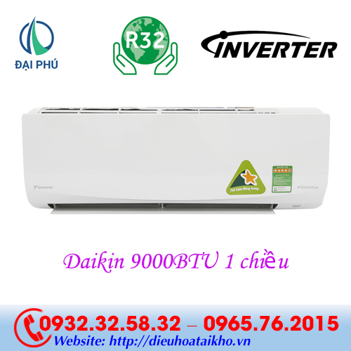 Điều hòa Daikin FTKQ25SAVMV 9000BTU 1 chiều inverter