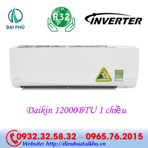 Điều hòa Daikin FTKQ35SAVMV 12000BTU 1 chiều inverter